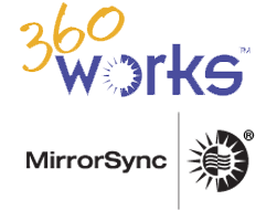 360Works MirrorSync Logo